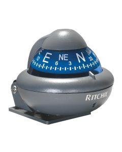 Ritchie X-10-A RitchieSport Automotive Compass - Bracket Mount - Gray