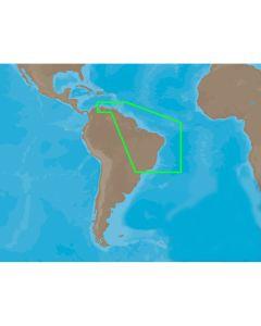 C-MAP NT+ SA-C004 - Puerto Bolivar-Rio De Janeiro - Furuno FP-Card