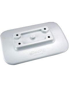 Scotty 341-GR Glue-On Mount Pad f/Inflatable Boats - Gray