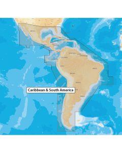 Navionics+ Caribbean & South America - microSD