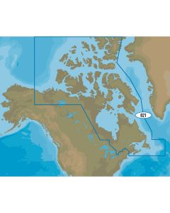C-MAP 4D NA-D021 - Canada North & East