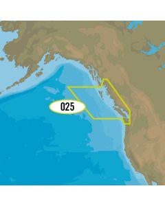 C-MAP 4D NA-D025 - Canada West Including Puget Sound
