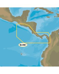 C-MAP 4D NA-D967 - Panama to Guatemala Local