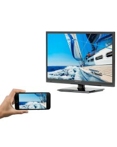 """Majestic 22"""" LED Full HD 12V TV w/Built-In Global HD Tuners, DVD, USB & MMMI Ultra Low Power Current"""