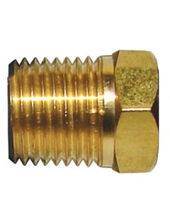 Tecnoseal Brass Cap f/M8 Pencil Zinc