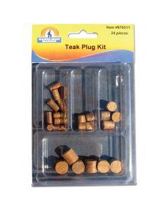 Handi-Man Teak Wood Plug Kit