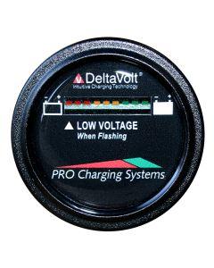 Dual Pro Battery Fuel Gauge - DeltaView Link Compatible - 12V System (1-12V Battery, 2-6V Batteries)