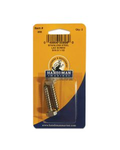 "Handi-Man Stainless Steel Lag Screw - 5/16"" x 1-1/2"""