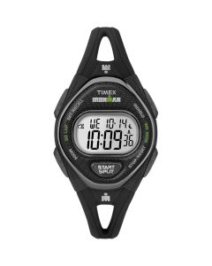 Timex IRONMAN Sleek 50 Mid-Size Silicone Women's Watch - Black