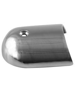 """TACO Rub Rail End Cap - 1-7/8"""" - Stainless Steel"""