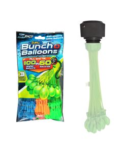 FATSAC Supa Pump GHT Balloon Adapter w/100-Pack Zuru Balloons