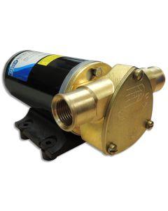 Jabsco Ballast King Bronze DC Pump w/Deutsch Connector w/o Reversing Switch - 15 GPM