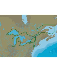 C-MAP 4D NA-D061 Great Lakes & St Lawrence Seaway -microSD/SD