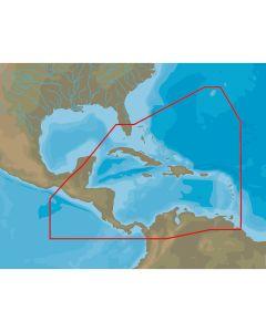 C-MAP 4D NA-D065 Caribbean & Central America -microSD/SD