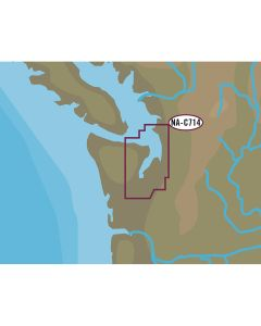 C-MAP NT+ NA-C714 Puget Sound & Straits of Juan De Fuca - C-Card Format