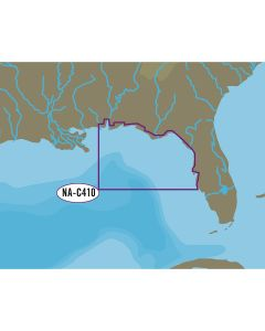 C-MAP NT+ NA-C410 Sarasota to Mobile - C-Card Format