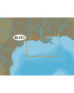 C-MAP NT+ NA-C411 Mobile to Port Arthur - C-Card Format