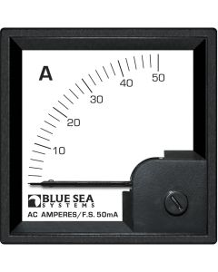Blue Sea 1058 AC DIN Ammeter - 0 to 50A w/Coil