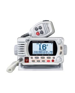 Standard Horizon 1850G Fixed Mount VHF w/GPS - White