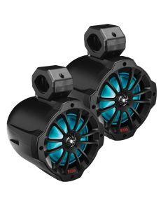 "Boss Audio 6.5"" Amplified Wake Tower Multi-Color Illuminated Speakers - Black"