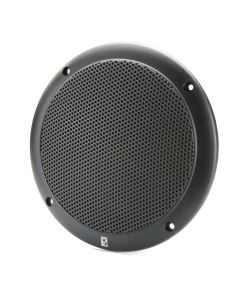 "Poly-Planar 5"" 2-Way Coax-Integral Grill Speaker - (Pair) Black"