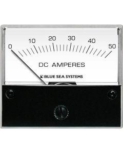 Blue Sea 8022 DC Analog Ammeter - 2-3/4 Face, 0-50 AMP DC