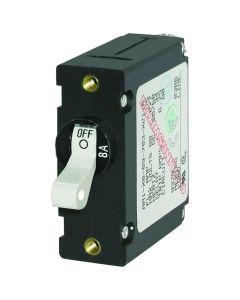 Blue Sea 7299 AC / DC Single Pole Magnetic World Circuit Breaker  -  8 Amp