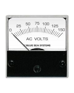 "Blue Sea 8244 AC Analog Micro Voltmeter - 2"" Face, 0-150 Volts AC"