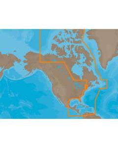 C-MAP MAX NA-M033 - ATL Coast Gulf & Caribbean - SDCard