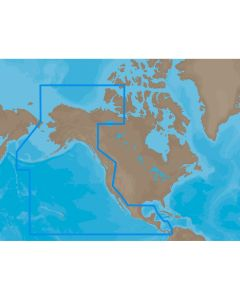 C-MAP MAX NA-M035 - Pacific Coast & Central - SDCard