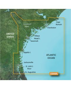 Garmin BlueChart g3 Vision HD - VUS008R - Charleston to Jacksonville - microSD/SD
