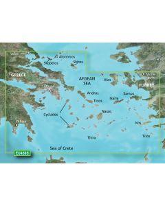 Garmin BlueChart g3 Vision HD - VEU450S - Athens & Cyclades - microSD/SD