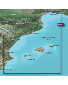Garmin BlueChart g3 Vision HD - VEU454S - Barcelona & Valencia - microSD/SD