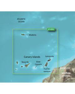 Garmin BlueChart g2 Vision HD - VAF450S - Madeira & Canary Islands - microSD/SD