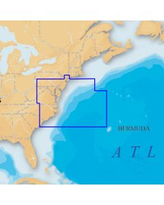Navionics Platinum+ - US Mid Atlantic and Canyons microSD/SD