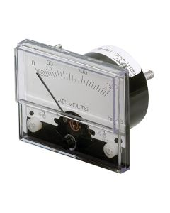 "Paneltronics Analog AC Voltmeter - 0-300VAC - 2-1/2"""