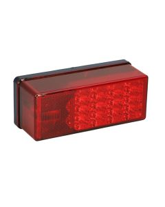 """Wesbar 3"""" x 8"""" Waterproof LED 7-Function, Right/Curbside Tail Light"""