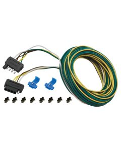Wesbar 25 ft. 5-Wire Wishbone Flat Wiring Harness Kit