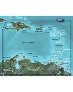 Garmin BlueChart g2 HD - HXUS030R - Southeast Caribbean - microSD/SD