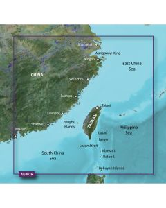 Garmin BlueChart g2 HD - HXAE003R - Taiwan - microSD/SD