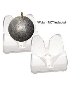Scotty 3022-WH Weight Mate - White 2 Pack