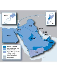 Garmin City Navigator - Middle East & Northern Africa NT - microSD/SD