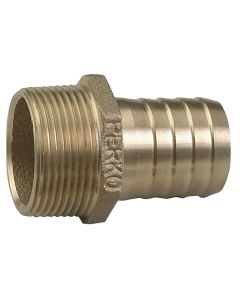 """Perko 3/4"""" Pipe to Hose Adapter Straight Bronze MADE IN THE USA"""