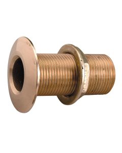 "Perko 1/2"" Thru-Hull Fitting w/Pipe Thread Bronze MADE IN   THE USA"