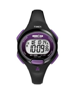 Timex IRONMAN 10-Lap Watch - Mid-Size - Purple/Black