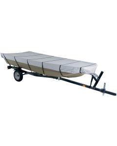 """Dallas Manufacturing Co. 300D Jon Boat Cover - Model C - Fits 16' w/Beam Width to 75"""""""