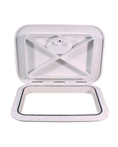 "Beckson 11x15"" Flush Hatch Vertical or Horizontal - White"