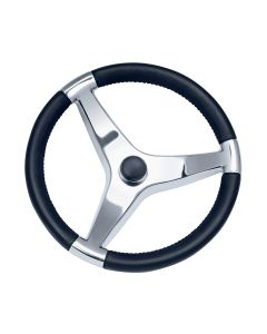 "Ongaro Evo Pro 316 Cast Stainless Steel Steering Wheel - 13.5""Diameter"