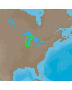 C-MAP 4D NA-D931 Lake Michigan