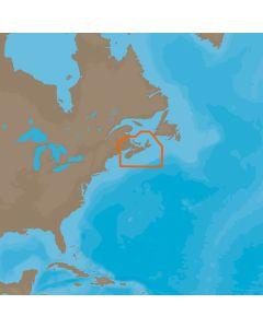 C-MAP  4D NA-D938 Fundy, Nova Scotia Pei & Cape Breton
